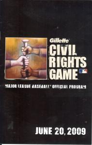 CRG - MLB Civil Rights Game Program 20090620