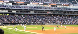 Jeter beating out a bunt