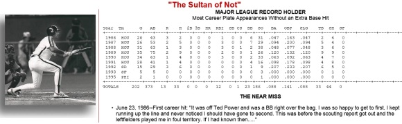 JD HOF -- Sultan of Not