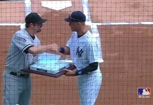 Jeter gives Paulie a Base