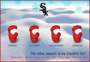 Sox Christmas Card